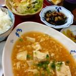 ひまわり-麻婆豆腐ランチ (2)